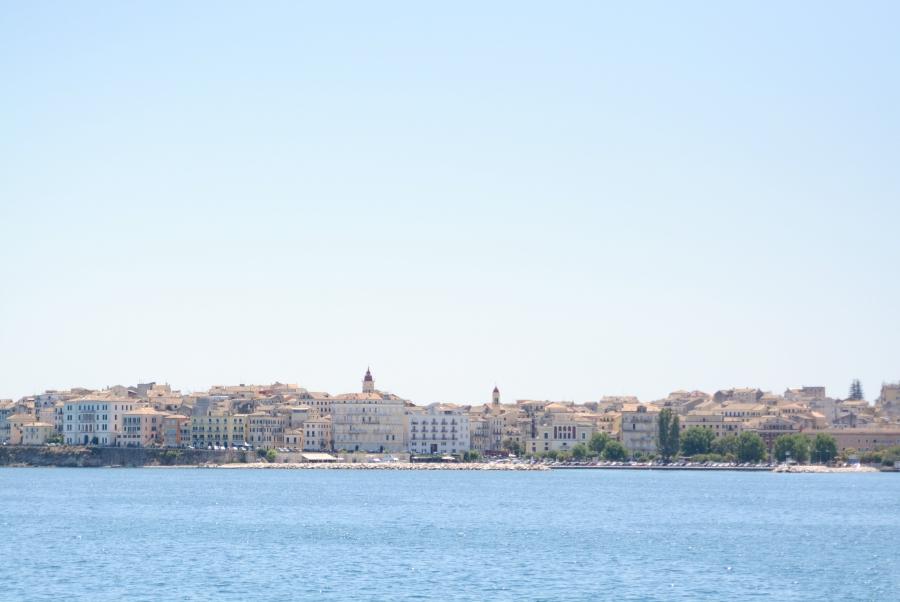 Vykort från Korfu